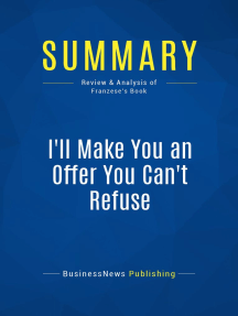 I'll Make You an Offer You Can't Refuse (Review and Analysis of Franzese's Book)