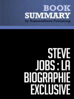 Steve Jobs, La Biographie exclusive - Walter Isaacson (Biographie exclusive)