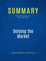 Defying the Market (Review and Analysis of the Leebs' Book)