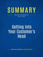 Getting Into Your Customer's Head (Review and Analysis of Davis' Book)