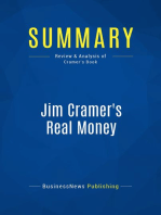 Jim Cramer's Real Money (Review and Analysis of Cramer's Book)