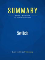 Switch (Review and Analysis of the Heath Brothers' Book)