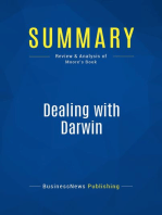 Dealing with Darwin (Review and Analysis of Moore's Book)
