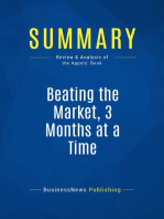 Beating the Market, 3 Months at a Time (Review and Analysis of the Appels' Book)