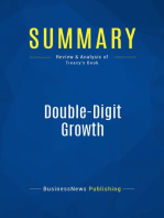 Double-Digit Growth (Review and Analysis of Treacy's Book)