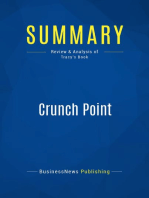Crunch Point (Review and Analysis of Tracy's Book)