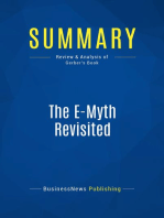 The E-Myth Revisited (Review and Analysis of Gerber's Book)