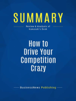 How to Drive Your Competition Crazy (Review and Analysis of Kawasaki's Book)