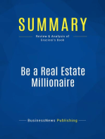 Be a Real Estate Millionaire (Review and Analysis of Graziosi's Book)