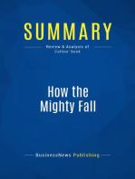 How the Mighty Fall (Review and Analysis of Collins' Book)