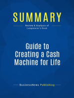 Guide to Creating a Cash Machine for Life (Review and Analysis of Langemeier's Book)