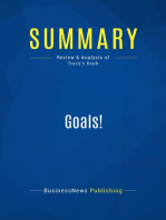 Goals! (Review and Analysis of Tracy's Book)