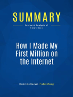 How I Made My First Million on the Internet (Review and Analysis of Chia's Book)