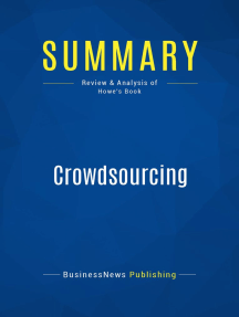 Crowdsourcing (Review and Analysis of Howe's Book)