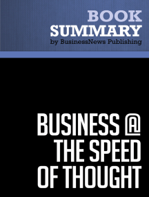 Business the speed of thought, Entreprise neuf ou occasion ...