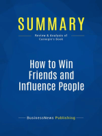 How to Win Friends and Influence People (Review and Analysis of Carnegie's Book)
