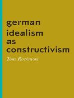 German Idealism as Constructivism