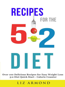 Recipes for the 5:2 Diet: 5:2 Diet, #7