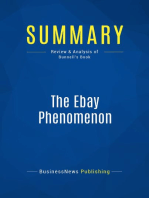 The Ebay Phenomenon (Review and Analysis of Bunnell's Book)