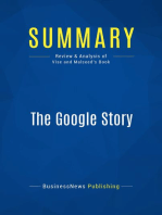 The Google Story (Review and Analysis of Vise and Malseed's Book)