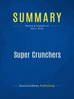 Super Crunchers (Review and Analysis of Ayres' Book)