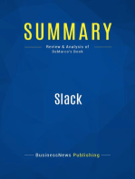 Slack (Review and Analysis of DeMarco's Book)