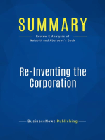 Re-Inventing the Corporation (Review and Analysis of Naisbitt and Aburdene's Book)