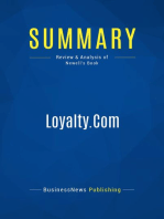 Loyalty.Com (Review and Analysis of Newell's Book)