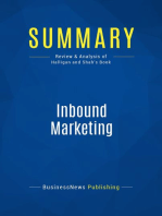 Inbound Marketing (Review and Analysis of Halligan and Shah's Book)