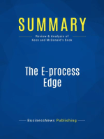 The E-process Edge (Review and Analysis of Keen and Mcdonald's Book)