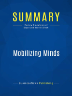 Mobilizing Minds (Review and Analysis of Bryan and Joyce's Book)