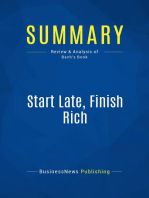 Start Late, Finish Rich (Review and Analysis of Bach's Book)