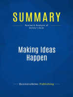 Making Ideas Happen (Review and Analysis of Belsky's Book)