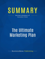 The Ultimate Marketing Plan (Review and Analysis of Kennedy's Book)