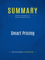 Smart Pricing (Review and Analysis of Raju and Zhang's Book)