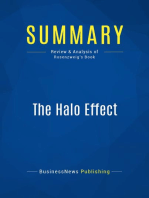 The Halo Effect (Review and Analysis of Rosenzweig's Book)