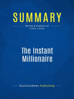 The Instant Millionaire (Review and Analysis of Fisher's Book)