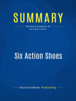 Six Action Shoes (Review and Analysis of de Bono's Book)