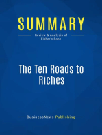 The Ten Roads to Riches (Review and Analysis of Fisher's Book)
