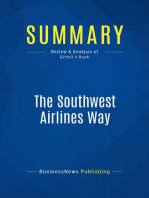 The Southwest Airlines Way (Review and Analysis of Gittell's Book)