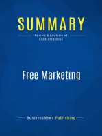 Free Marketing (Review and Analysis of Cockrum's Book)