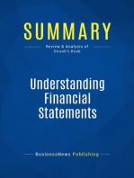 Understanding Financial Statements (Review and Analysis of Straub's Book)