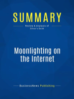 Moonlighting on the Internet (Review and Analysis of Silver's Book)