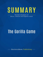 The Gorilla Game (Review and Analysis of Moore, Johnson and Kippola's Book)