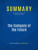 The Company of the Future (Review and Analysis of Cairncross' Book)