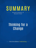 Thinking for a Change (Review and Analysis of Maxwell's Book)