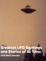 Greatest UFO Sighting and Stories of All Time
