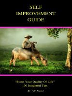 """The Self-Improvement Guide 100 Tips for Boosting Your """"Quality of Life"""""""