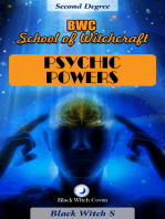 Psychic Powers. Year 2 in BWC School of Witchcraft
