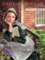 More Than Words (Daughters of Amana Book #2)